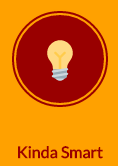 Light bulb icon - KindaSmart button