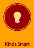 Light bulb icon - KindaSmart button