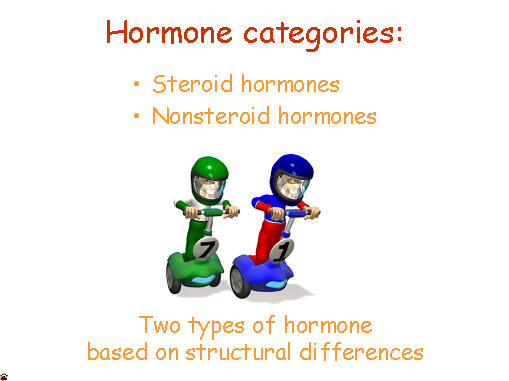 hormone categories