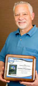 Kevin with 2016 Texty Award